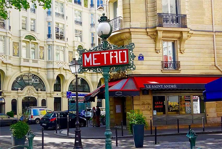 metro saint germain des prés