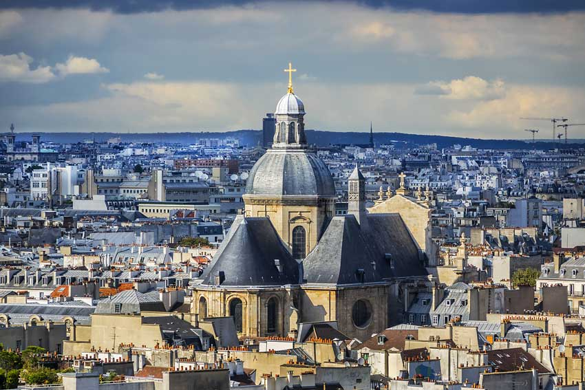 quartier le marais Paris