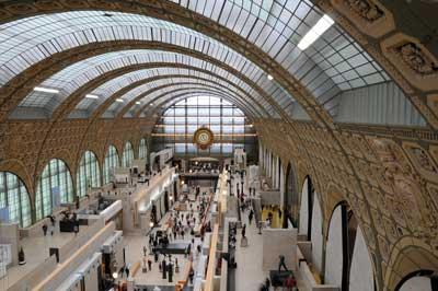 visite le musee d'Orsay à Paris